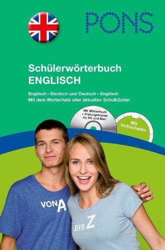 PONS Schülerwörterbuch Englisch: Englisch-Deutsch und Deutsch-Englisch: Amazon.de: Herausgeber:: Bücher