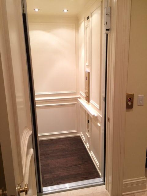 Home Elevator Installed By Ehls In Barrington Hills House Elevation Elevator Interior Elevator Design
