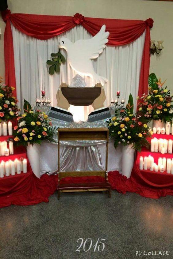 Monumento jueves santo parroquia nuestra se ora de f tima for Casa al dia decoracion
