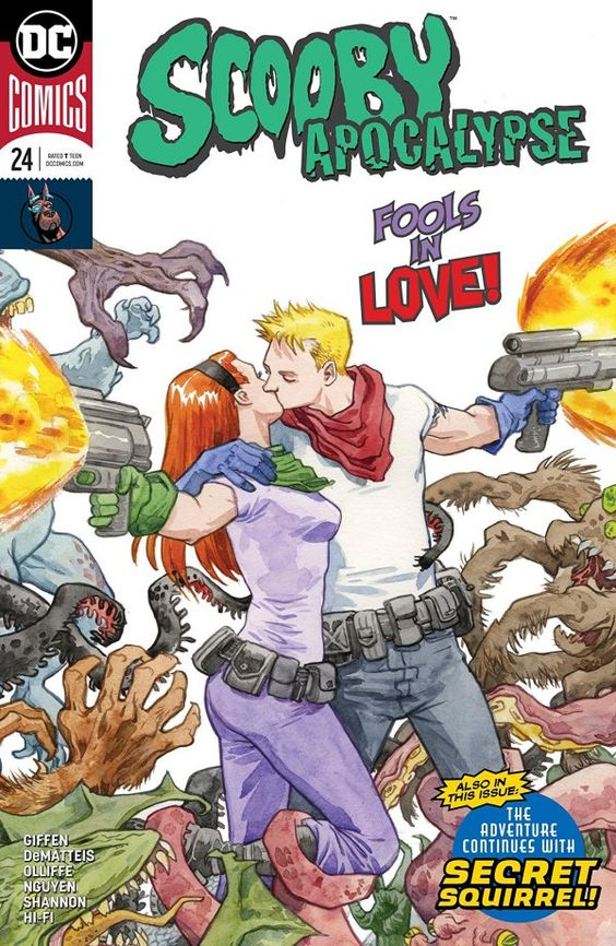 Scooby Apocalypse #24 Review