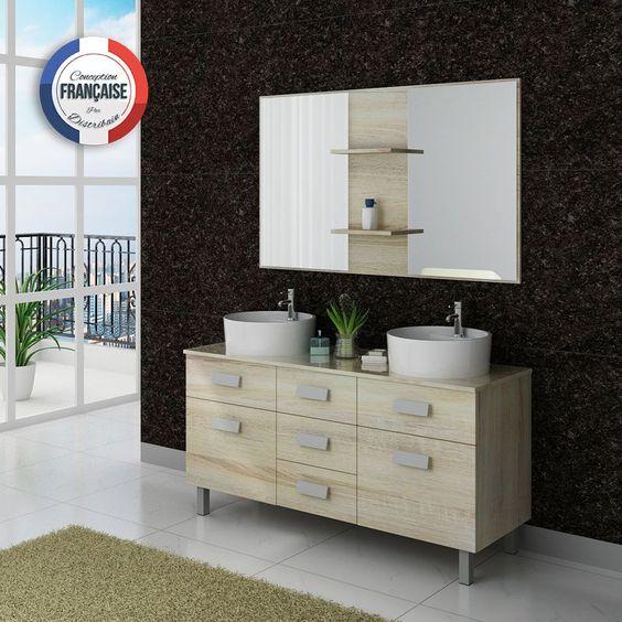 dis911sc meuble salle de bain scandinave - Salle De Bain Scandinave Pinterest