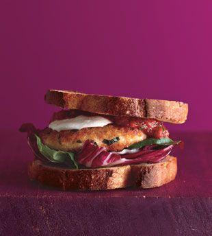 Chicken Parmesan Burgers | Recipe | Burgers, Parmesan and Chicken