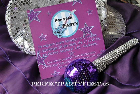 Perfect Party: Popstars & rockers Party - Fiesta temática de Violetta & popstars