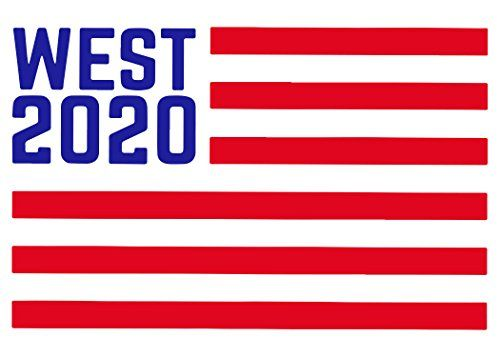 Kanye West 2020 American Flag Vinyl Decal Sticker Premiu Https Www Amazon Com Dp B0788xbn7g Ref Cm Sw R P Vinyl Decal Stickers Vinyl Decals American Flag