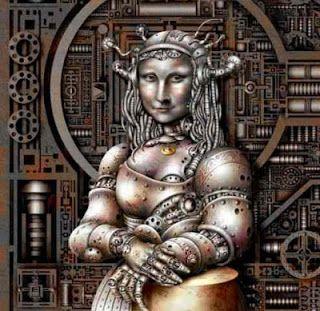 a ciber Mona Lisa