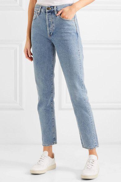 Goldsign   The Benefit high-rise straight-leg jeans   NET-A-PORTER.COM