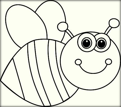 Bee Coloring Pages Bee Coloring Pages Bee Pictures Coloring Pages