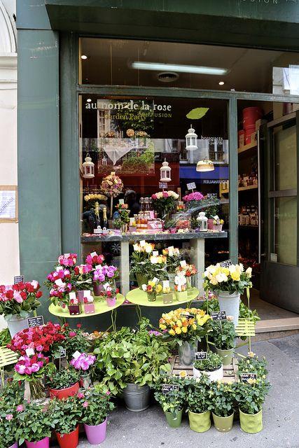 Au nom de la rose paris boutiques magasins pinterest fleur roses et fleuristes - Au nom de la rose fleuriste ...