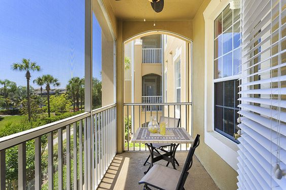 Balcony of a Windsor Hills Condo