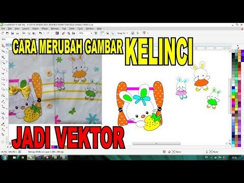 Cara Edit Kelinci Menjadi Vektor Youtube Gambar Kelinci Kelinci Belajar Menggambar