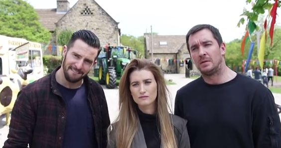 Michael Parr (with Charley Webb and Anthony Quinlan)