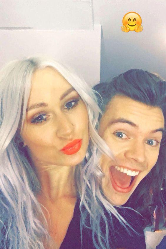 Haz on Lou's snapchat