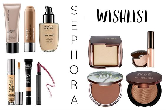Wishlist Sephora Gringa | New in Makeup