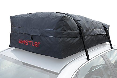 Car Roof Bag Bundle 100 Waterproof Top Cargo NO RACK NEEDED Non Slip Mat Storage For Any Van Or SUV 15 Cubic Feet