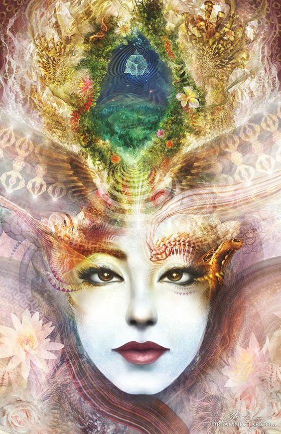 Olivia Curry, visionary art: