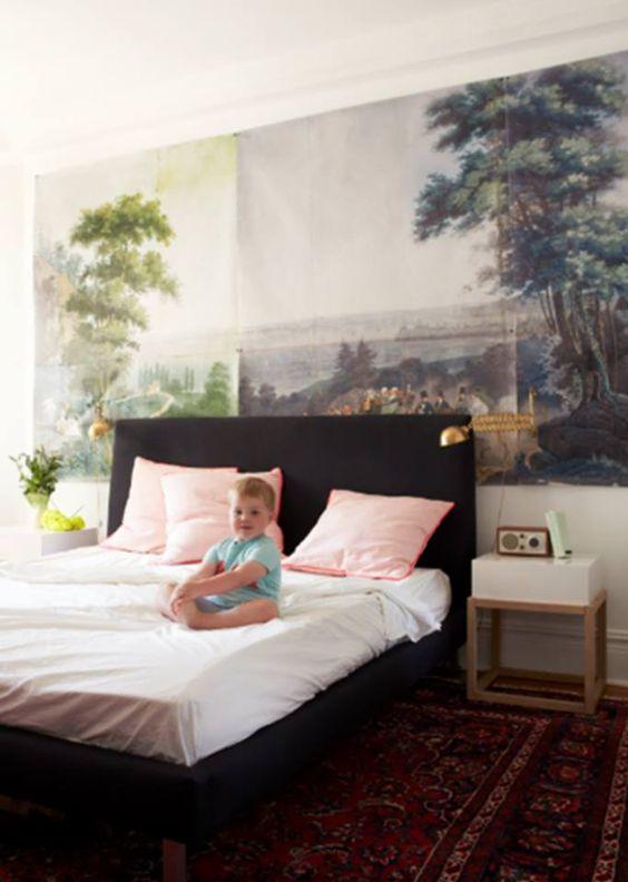 Aaaah, deze slaapkamer (ontwerp Jenny Komenda) is hoe dan ook een ...