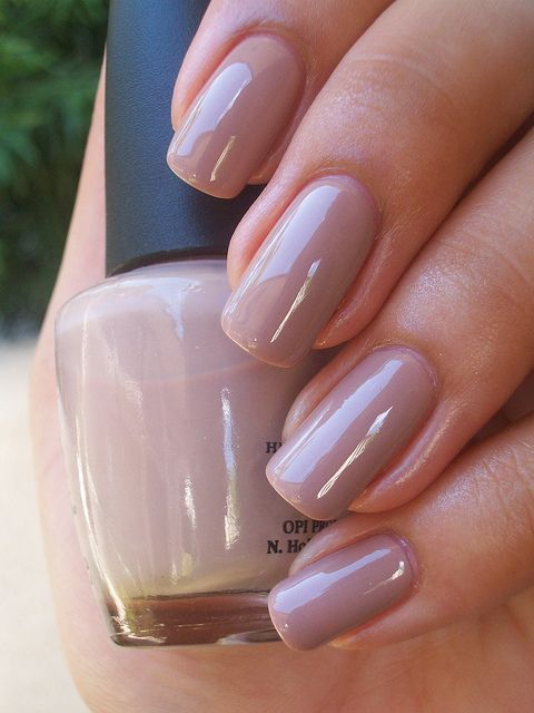 OPI Tickle My France-y. My absolute favorite color for polish in winter.: