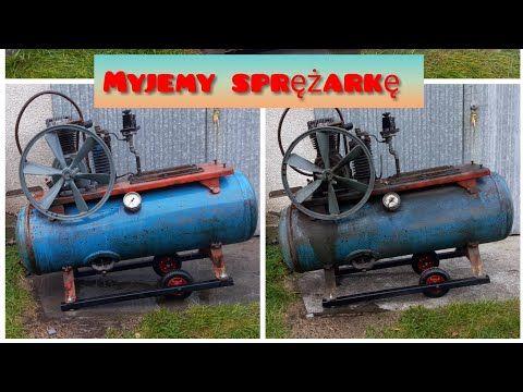 Remont Sprezarki Pierwszy Etap Mycie Old Compressor Refurbishment Youtube Refurbishing Make It Yourself Compressor