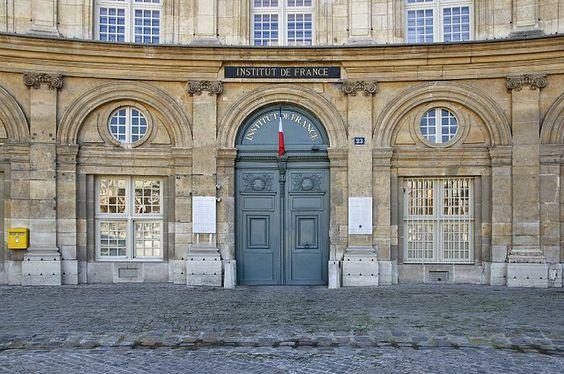 Institut de France - 23, quai de Conti - Paris 6e
