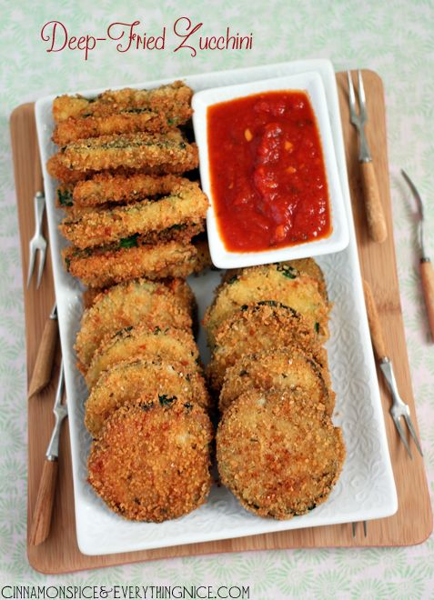 Deep-Fried Zucchini - No this definitely does NOT go under the Good ...