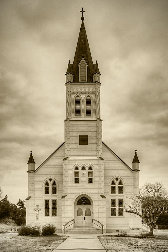 Love photos of old churches: