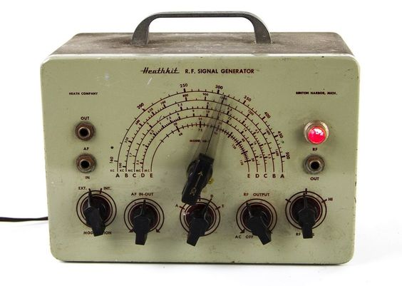 Heathkit Signal Generator : Electronics generators and vintage on pinterest