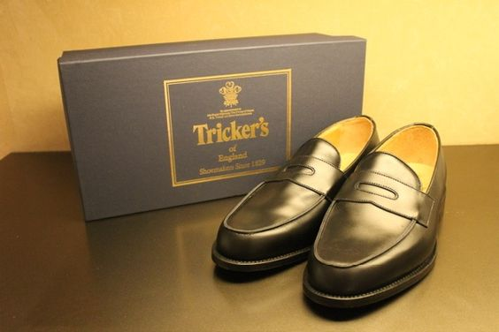 Tricker's penny loafers