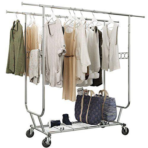 Simplehouseware Supreme Commercial Grade Clothing Garment Rack