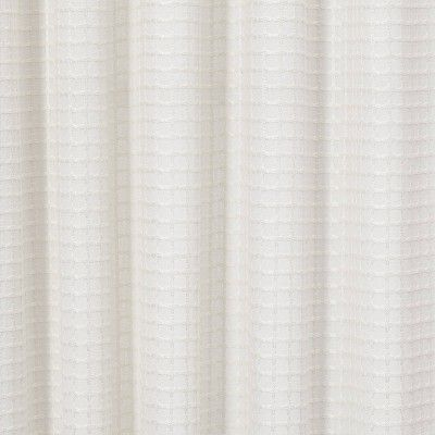 95 X54 Light Filtering Honeycomb Curtain Panel White Opaque