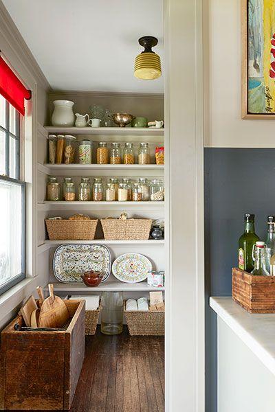 Churchill Farmhouse walk-in pantry