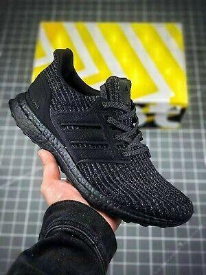 Ebay Sponsored New Adidas Ultraboost 4 0 Triple Black Shoes