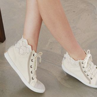 Superga Macramew Lace Sneakers | Shop Shoes at Nasty Gal!