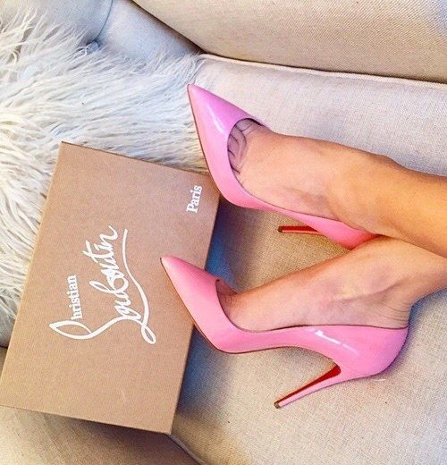 white louis vuitton loafers - Perfect pink Louboutins. #louboutin #pink #shoes | Louboutin ...