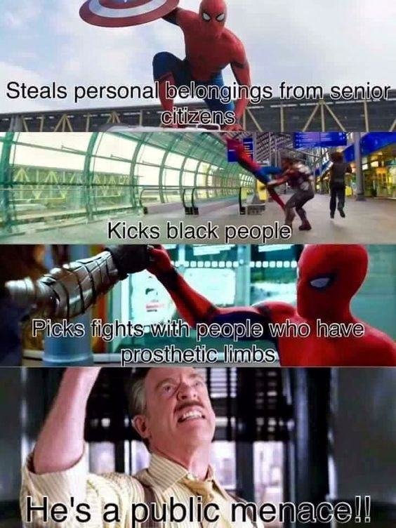 avengers meme spiderman- AHAHAHAA! This is hilarious