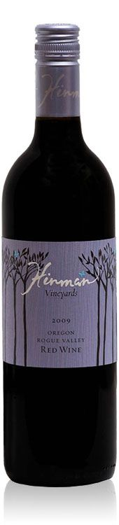 I really like this label from Hinman Vineyards. (The wine is good too!)