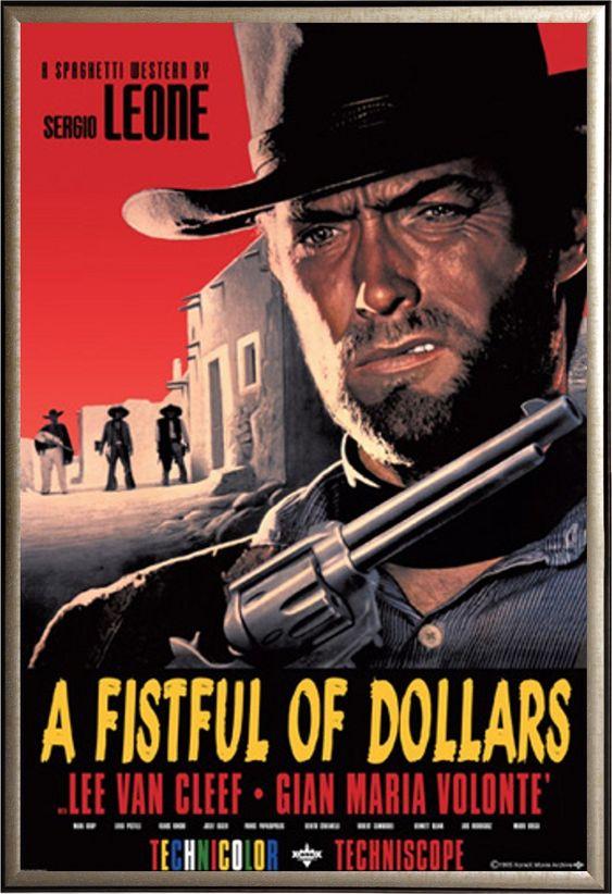 A Fistful Of Dollars (1964; Sergio Leone; Clint Eastwood)  www.cult-labs.com: