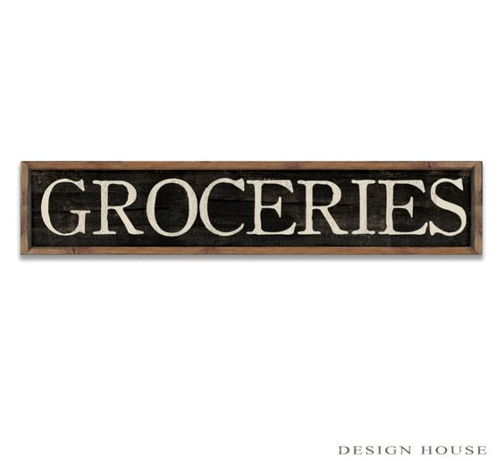 Groceries sign groceries plaque large grocery sign kitchen signs kitchen plaques kitchen decor kitchen wall art wooden signs handmade signs by DesignHouseDecor on Etsy https://www.etsy.com/listing/225890765/groceries-sign-groceries-plaque-large