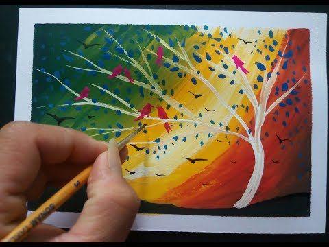 Easy Painting Ideas For Beginners Diy Youtube Easy Paintings