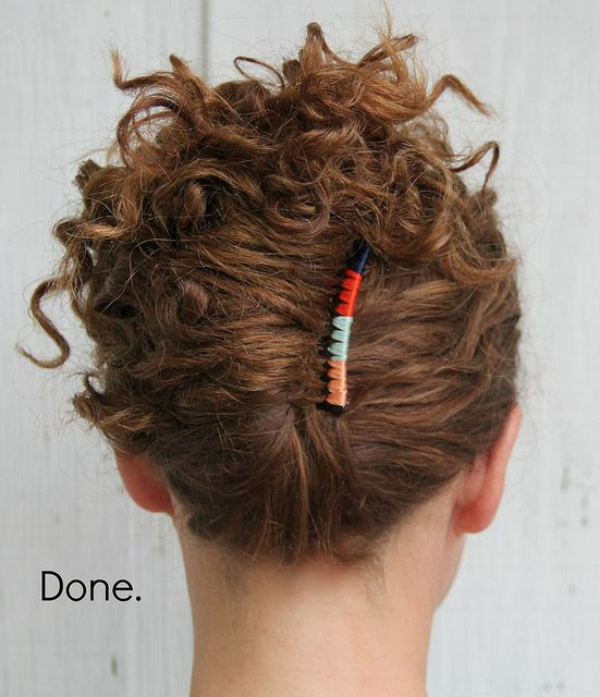 Wondrous 5 Steps To An Easy Summer Updo Hairstyles Tutorial Kristina J Hairstyles For Men Maxibearus