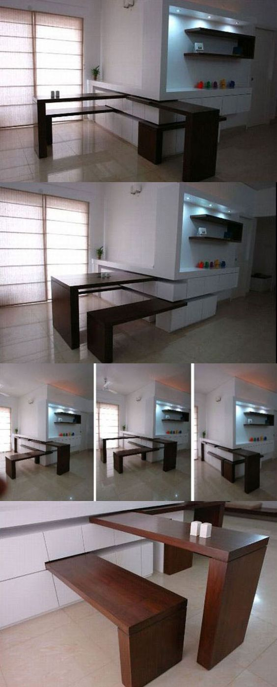 Chairs Hidden Desk And Tables On Pinterest