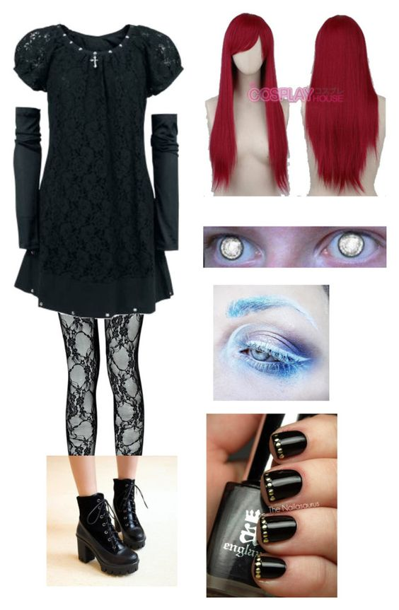 """""""Untitled #218"""" by oh0601 on Polyvore featuring Boohoo, Pangmama and Medusa's Makeup"""