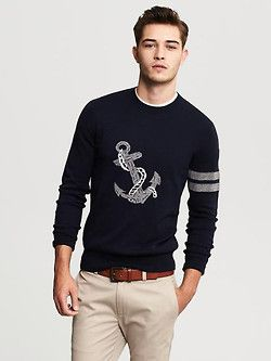 Anchor sweater .
