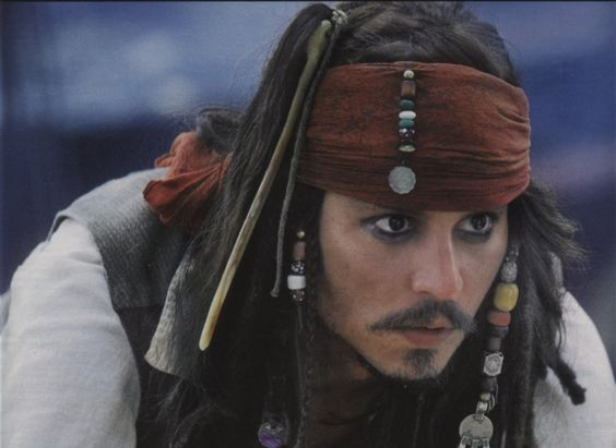 Pirates  of the  Caribbean: The Curse of the Black Pearl (2003): Johnny Depp
