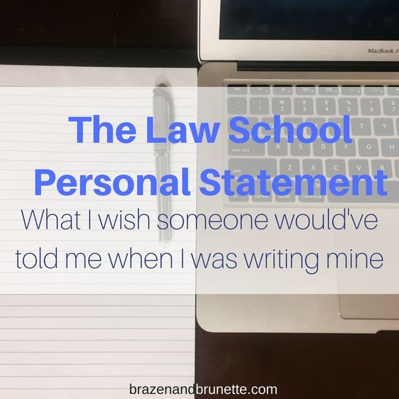 Unusual Law School Personal Statements What Works and What Doesn - law school personal statement