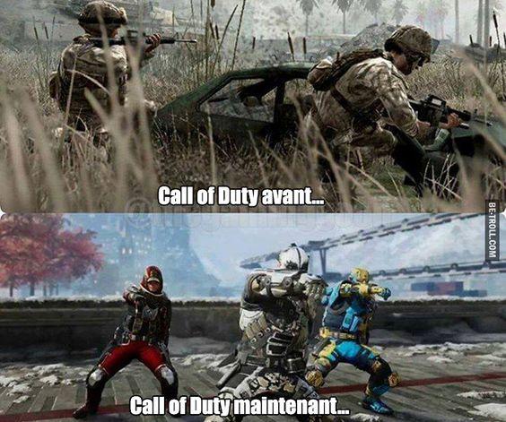Call of Duty avant…