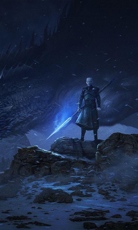 Game Of Thrones Season 8 Episode 3 Streaming Hd : thrones, season, episode, streaming, Dragon, Night, King,, Artwork,, Thrones,, 480x800, Wallpaper, #gameofthronesfunny, Thrones, Poster,