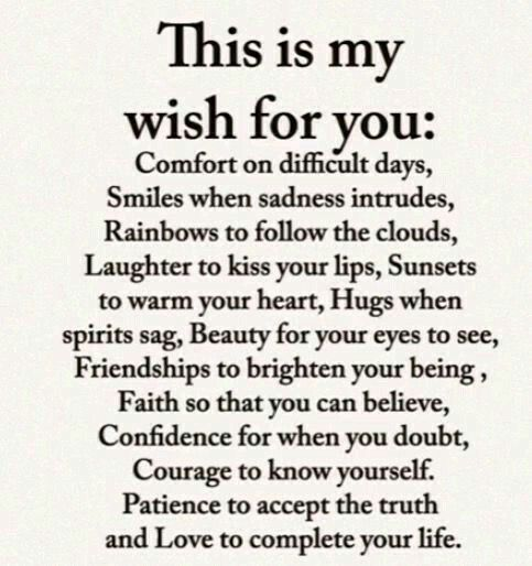 These Truly Are My Wishes For You Eunicebriseno Onlyebgirl