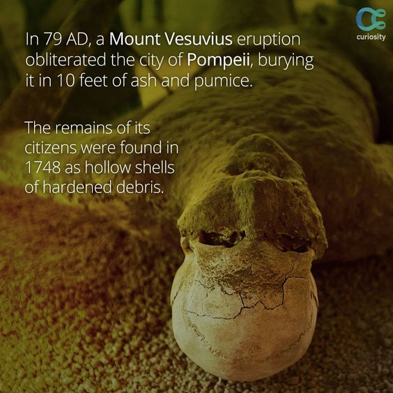 the history and destruction of vesuvius 30 interesting facts about pompeii and mount vesuvius 1the city and people of pompeii did not know that vesuvius was a volcano, as it hadn't erupte-30-interesting.