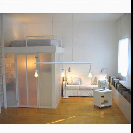 Loft Bed With Closet Underneath: Pinterest • The World's Catalog Of Ideas