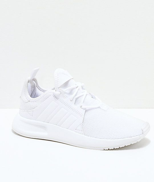 adidas Xplorer All White Shoes | Zumiez